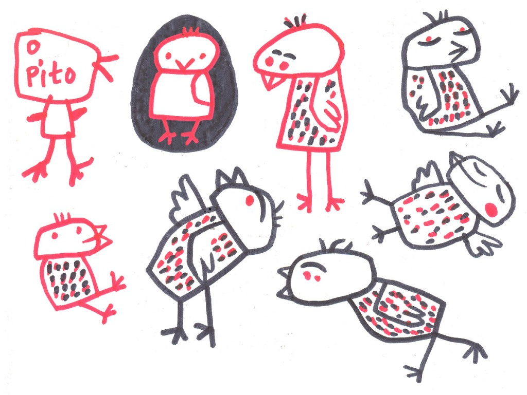 Primeros bocetos